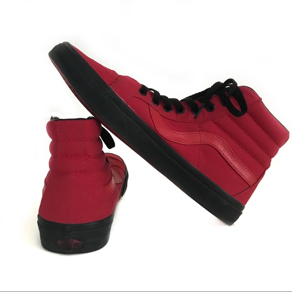 b523315924 Vans Sk8 Hi Reissue Racing Red Black